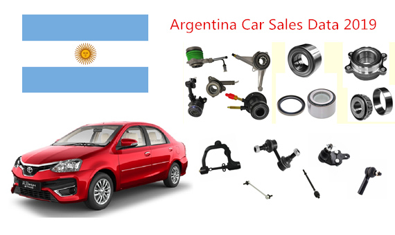 New Car Sales Data of Argentina 2019