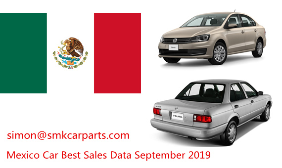 Mexico Latest Car Sales by Model September 2019